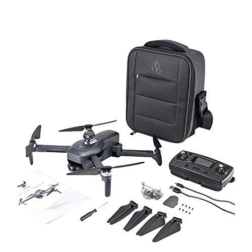 MüLö GPS Drohne mit Kamera, Pro MAX Drone HD-Kamera 4K5GWIFI GPS-System Automatische Hindernisvermeidung 3-Achsen-Verwacklungsschutz Professionelle bürstenlose 1,2-km-Drohne (A)