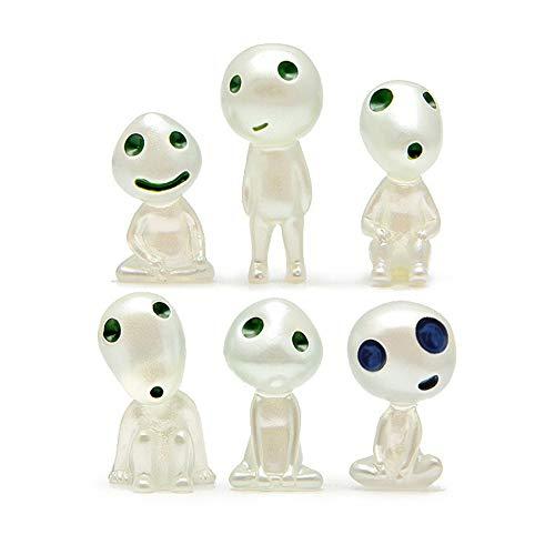 Weiqiao® - Figuras de princesa mononoke árbol luminoso, diseño de Elfos de...