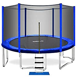 ORCC 10 Ft Trampoline with Safety Enclosure Net