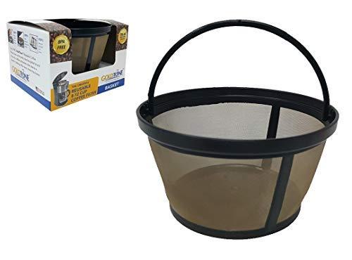 GOLDTONE Reusable 812 Cup Coffee Filter FlatBottom Basket for Proctor Silex