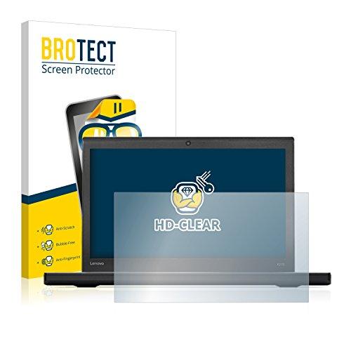 BROTECT Schutzfolie kompatibel mit Lenovo ThinkPad X270 (2 Stück) klare Bildschirmschutz-Folie