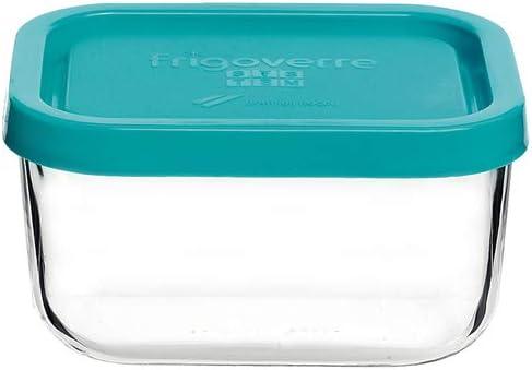 Frigoverre J600201 - Recipiente Cuadrado 15cm. T.Azul