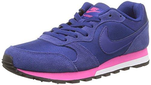 Nike Damen, Sneaker, Md Runner 2, Blau (Deep Royal Blue/Deep Royal Blue-Pink Foil-White), 36.5 EU / 6 US