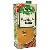 Pacific Foods Organic Vegetable Broth, 32oz, 12-pack Keto Friendly