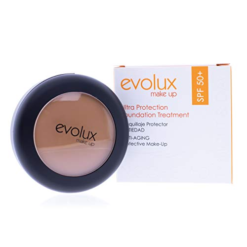Maquillaje Protector SPF 50+ Antiedad Color N.41, EVOLUX Ultra Protection Foundation Treatment...