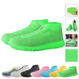 ATOFUL Reusable Silicone Waterproof Shoe Covers, Silicone Shoe