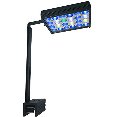 PopBloom S16 Reef Saltwater LED Aquarium Light Mini Nano Fish Tank Lighting Lamp Reef LED 30W