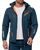 Geographical Norway Royaute-bans - Chaqueta para hombre azul marino M