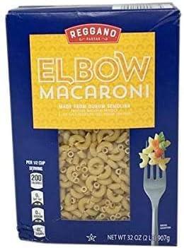 Reggano Classic Durum Semolina Low Fat Sodium Free Elbow Macaron