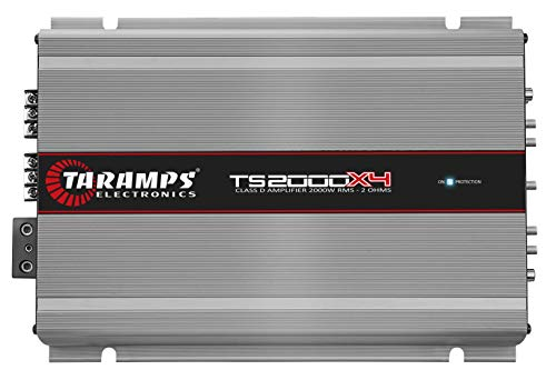 Lowest Prices! TARAMP'S TS2000X4 Taramp 4 Ch 2000 Watts 2 Ohm Car Amp