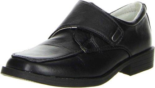 ConWay Jungen Kommunion Halbschuhe schwarz, Farbe:Schwarz, Größe:34
