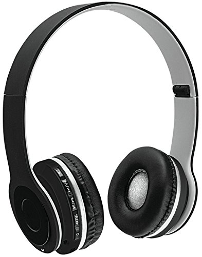 Sentry Bluetooth Headphones with Microphone - Gray