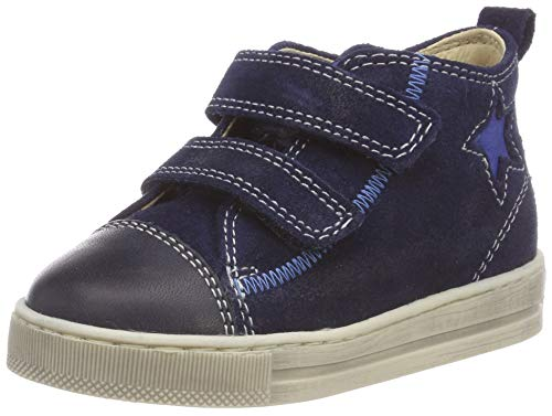 Falcotto Baby Jungen HAL VL Sneaker, Blau (Bleu-Navy 1c22), 18 EU
