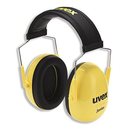 Kapselgehörschutz Uvex K Junior Schwarz-Gelb