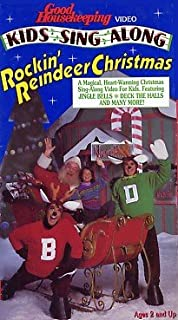 Good Housekeeping: KIDS SING ALONG Rockin' Reindeer Christmas VHS