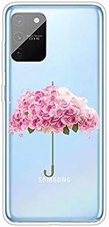 جراب شفاف من Mylne لهاتف Samsung Galaxy S10 Lite، جراب واقٍ بالكامل من السيليكون المرن والناعم والشفاف والناعم للغاية