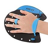 YJZQ, pagaia Professionale per l'agilità, per l'allenamento del Nuoto, per Adolescenti, Uomini e Donne, Uomo, L for Adult with Big Hands
