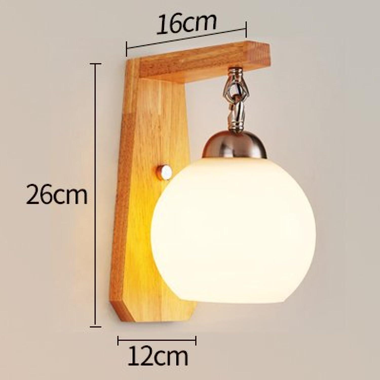 YYHAOGE Wand Schlafzimmer Wohnzimmer Treppenhaus Gang Lampe Nachttischlampe Wandleuchte Hotel, Ein 27-Led