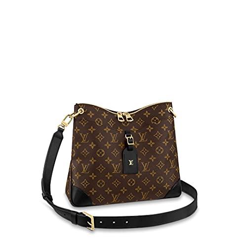 Louis Vuitton Monogram Odeon Crossbody Bag (Black, MM)