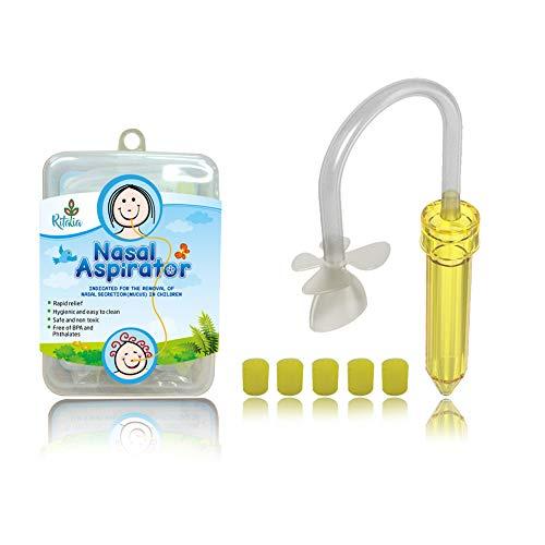 Ritalia aspirador nasal bebé 5 filtros higiénicos