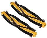 Lifeyz Piezas de aspiradora 2 Paquetes de Kits de Cepillo Principal de Repuesto para DEEBOT 930900901 M80 M88 Accesorios de aspiradora (Color: Amarillo Negro) Exquisito (Color : Yellow Black)