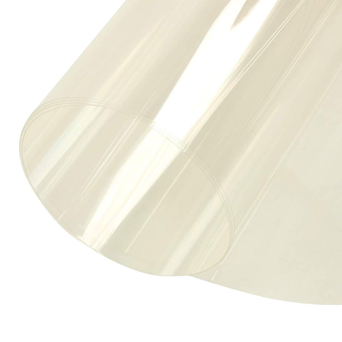 描くアサー伝導Decocar 強化透明ガラスフィルム クリア飛散防止フィルム 飛散防止フィルム ガラス飛散防止フィルム 飛散防止カット 幅80cm (80cm×500cm, クリア)