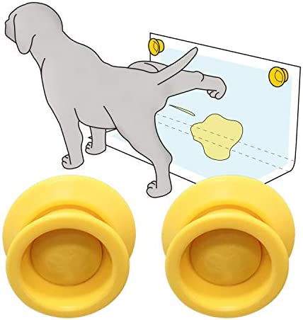 Petzy Pee Pad Holder for dogs Pack of 2 Potty Training for Leg Lifting Dogs Marking in the House product image