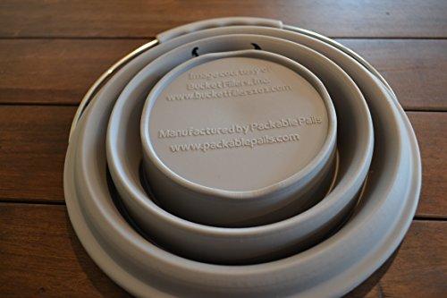 Packable Pails Exclusive Bucket Filler44; Grey