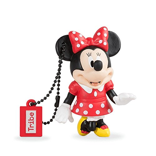 Llave USB 32 GB Minnie Mouse - Memoria Flash Drive 2.0 Original Disney, Tribe FD019702