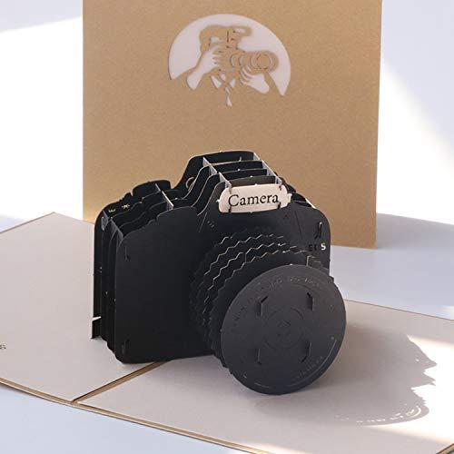 Paper Spiritz 「カメラ」 立体グリーティングカード