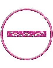 Mondo Toys-Hula Hoop eenhoorn-gereedschap voor kinderen, 80 cm diameter, 28587, roze, 28587