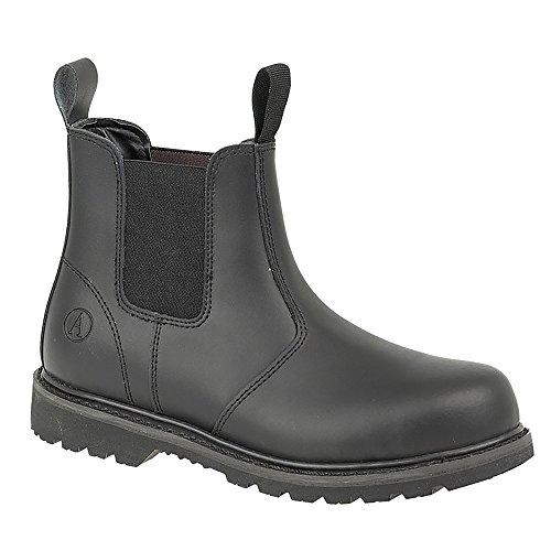 Amblers Steel Amblers Unisex FS5 Sicherheits Stiefel Schuhe (38 EUR) (Schwarz)