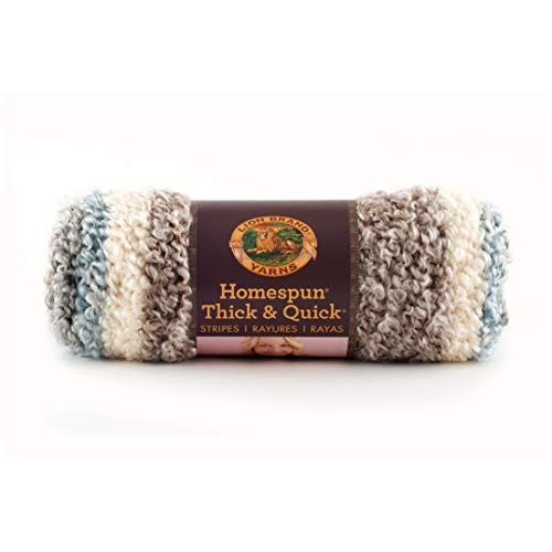 Lion Brand Granite Homespun Thick & Quick Stripes Yarn 211 -  Lion Brand Yarn, 0326198