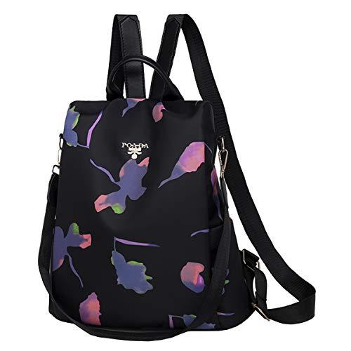 SPEEDEVE Damen Rucksack Anti Diebstahl Tasche,Schmetterling