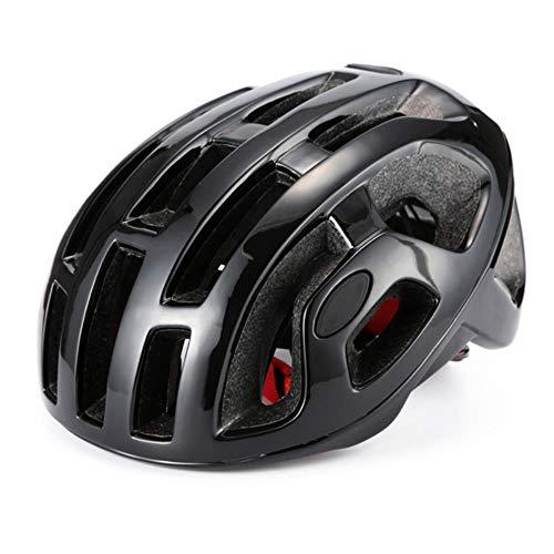 Racefiets Helm Racing Mountain Fietshelm Man Dames Fietshelmen, helder zwart