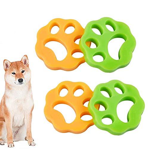 INTVN Pet Hair Catcher - Quitapelusas para mascotas, para lavadora, pelo de...