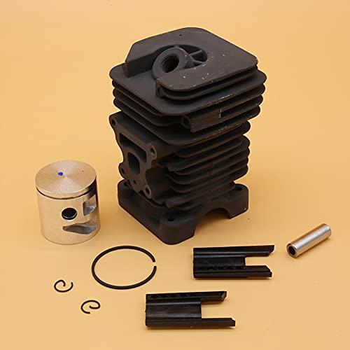 Juego de pistón de cilindro de 41 mm premium duradero para Culloch 742842 para Partner 842840742 piezas de reparación de motosierra Accesorios OEM # 530071885