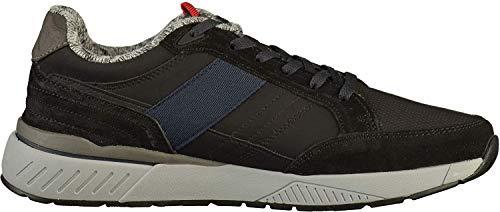 s.Oliver Herren Low-Top Sneaker 13614-21,Männer Halbschuh,Sportschuh,Schnürschuh,Black,EU 43