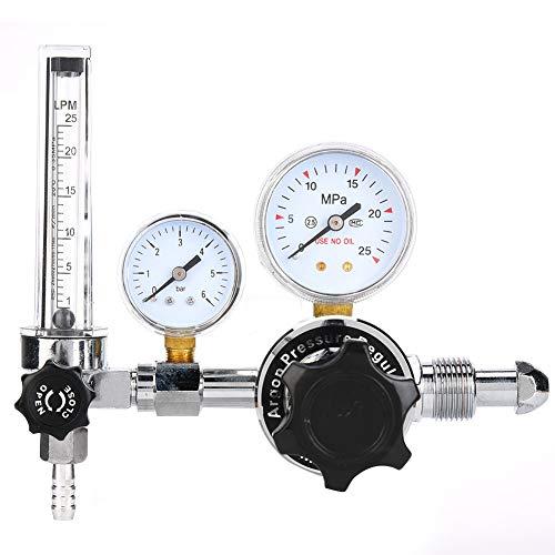 Regulador de presión de gas WX-983-5/8, regulador de gas, soldadura MIG G5 / 8 CGA580 para uso industrial(WX-983-5/8)