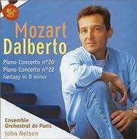 モーツァルト:ピアノ協奏曲第20番&第22番