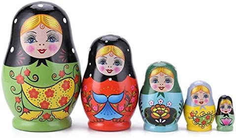 Russian Nesting Dolls Toys Branded goods 1 Limited Special Price Painted Set Rus Color