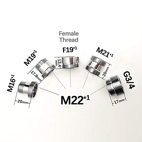 Raccordi dritti da 1//4 maschio x 1//4 2 pezzi Finerfilters