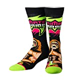 Odd Sox Unisex Crew-Socken - From Parts Unknown (WWE Ultimate Warrior) (EU 38.5-46.5)