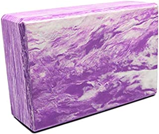 CWM Yoga Block 1-2 Pack and High Density EVA Foam Yoga Brick to Support Balance and Deepen Poses