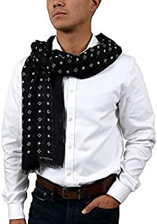 Givenchy GV7020 SD258 1 Black Scarf for Mens