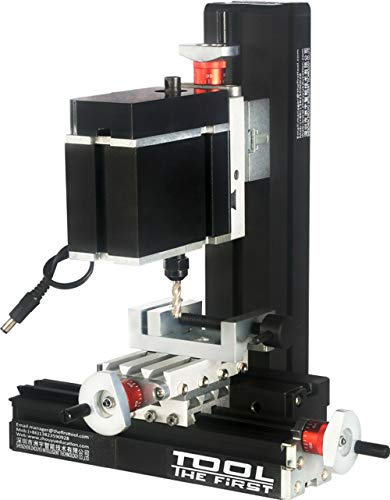 ZHOUYU 60W Motorized Mini Metal Milling Machine DIY Power Tool Woodworking Modelmaking Hobby Science Room