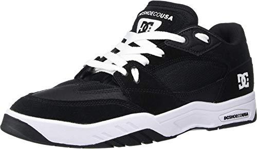 DC Maswell tênis masculino para skate, Black/White, 8