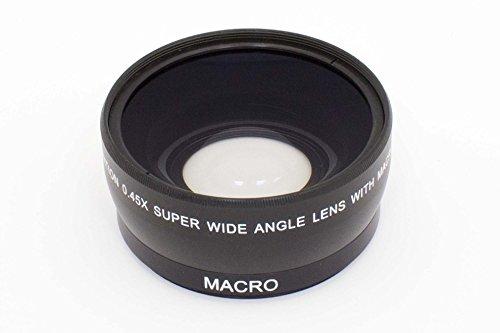 vhbw Convertidor de Rosca de la Lente Gran Angular de 58mm, Factor 0,45x para cámara Sigma 70-300 mm 4-5.6 DG Makro, Tamron 28-80 mm 3.5-5.6 AF ASL.