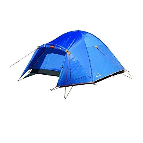 NORTH STAR - Tienda de campaña Aneto 4 - Tienda Familiar Iglú para 4 Personas Impermeable 3 Estaciones Ligera y Resistente de Camping