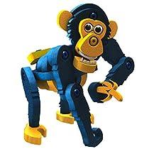 Bloco Toys ブロコトイズ ブロック 知育玩具 アニマル チンパンジー 動物 5歳-